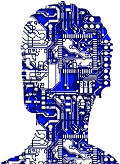 Gifts Delight Laminated 33x24 inches Poster: Artificial Intelligence Computer Science Electrical Engineering Technology Developer Think Computer Man Intelligent Controlled Printed Circuit Board Board