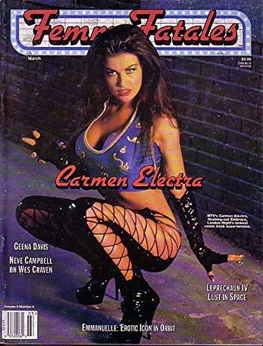 FEMME FATALES-MAR 1997-CARMEN ELECTRA COVER G