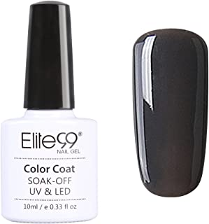 Qimisi Soak Off Gel Polish Uv Led Grey Series Nail Art Color Lacquer 10Ml 10Ml Grey Series - 006