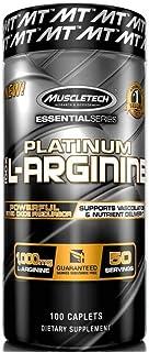 MuscleTech Essential Series, L-Arginine, 100 Count