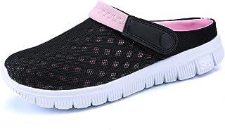 Men-Women Slip-On Breathable Mesh Shoes Couples Sport Sandals Flip Flop