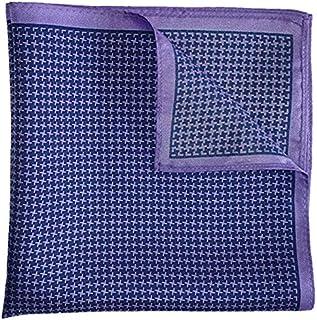 The Purple Singer Silk Pocket Square