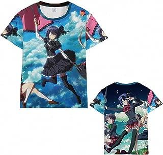 Unisex Men's Women's Anime Love Chunibyo & Other Delusions Takanashi Rikka T-Shirts (7 Colors)