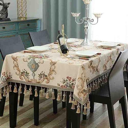 Tischdecke Stofürechteckige Couchtisch Tuch Hause Wohnzimmer Mode h en Spike Esstisch Tuch , 004 , 140220cm