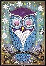 Faça você mesmo em forma de diamante especial pintura capa caderno ponto cruz diamantes coloridos escrevendo diário bloco ...