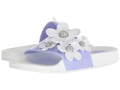Marc Jacobs Daisy Pave Aqua Slide (Lavender Multi) Women