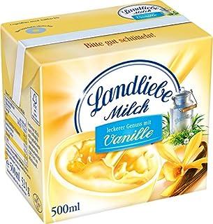 Landliebe haltbare Landmilch Vanille, 12er Pack 12 x 500 ml