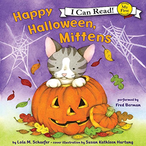 Happy Halloween, Mittens audiobook cover art