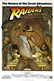 Pop Culture Graphics (11x17) Raiders of The Lost Ark - Harrison Ford Credits Movie Poster