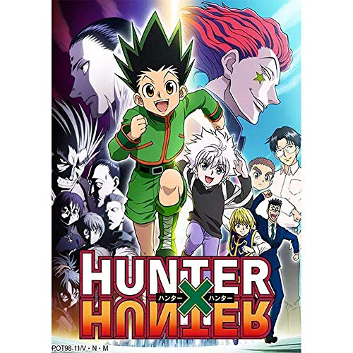 Zhenzhiao Hunter X Hunter - Póster de manga anime para pared, decoración del hogar, 42 x 29 cm