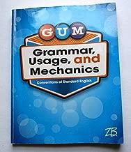 gum grammar usage and mechanics grade 4