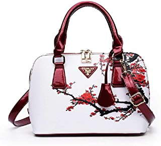 None/Brand Ladies Pu Fashion Shoulder Bag, Handbag, Messenger Bag, Large-Capacity Office Bag, Fashion Printed Shell Bag Be...