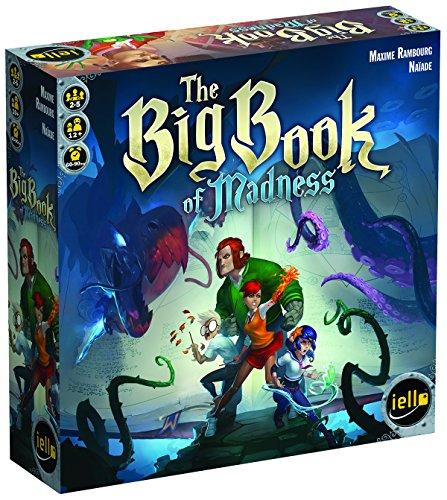 IELLO- The Big Book of Madness Game, 51254, Multicolore