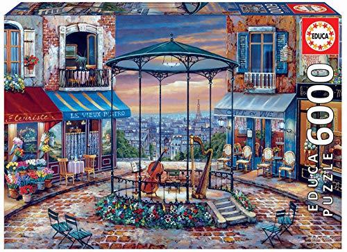 Educa - Preludio Nocturno Puzzle, 6000 Piezas, Multicolor (18016)