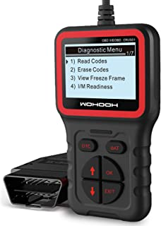 WOHOOH Code Code Reader، Universal OBD2 Scanner Fixed Car Diagnostic Tool، Automotive OBD Check Engine Tools، Read