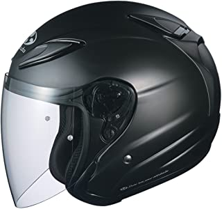 Kabuto Solid Adult Avand II Cruiser Motorcycle Helmet - Flat Black / Small