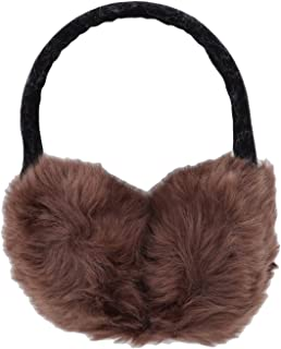 Winter Earmuff Imitation Rabbit Women Fur Earmuffs Winter Ear Warmers Large Plush Girls And Boys Ear Warmers Earmuffs,khaki