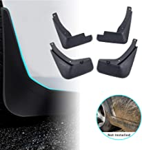 For Audi A4 B8 2008-2013 Car Mud Flaps Splash Guards Mudguard Front and Rear Fender Accessories 4Pcs Set with Screw