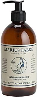 Marius Fabre Marseille Liquid Soap, Orange Zest - 500ml