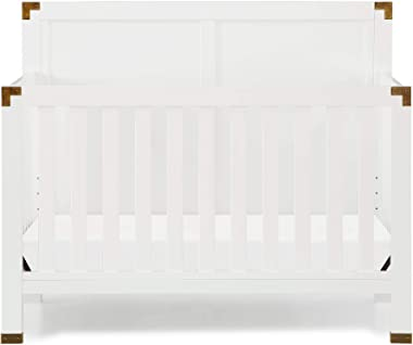 Baby Relax Miles 5-in-1 Convertible Crib, White