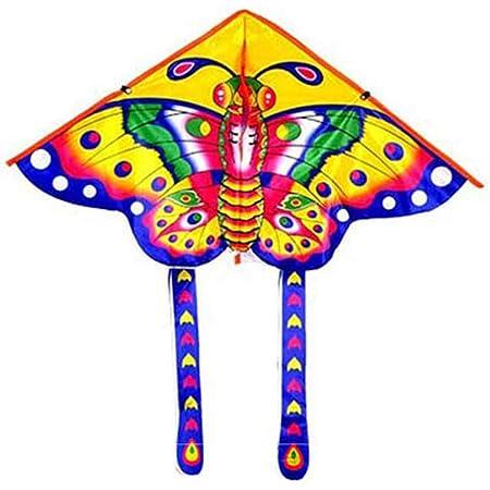 Outdoor Kites Butterfly Children Kids Flying Kite Fun Toys Sports W2N3