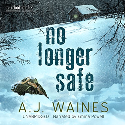 No Longer Safe audiobook cover art