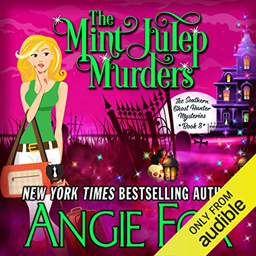 The Mint Julep Murders audiobook cover art