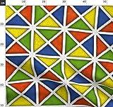 Harlekin, Clown, Zirkus, Windmühle, Geometrisch,