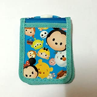 CJB Cute Tsum Tsum Mickey Minnie Badge ID Card Park Pass Holder with Neck Strap Blue (US Seller)