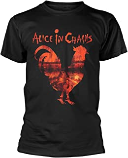 Alice in Chains Rooster Dirt Layne Staley Rock Official Tee T-Shirt Mens Unisex