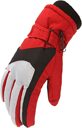 discount OPTIMISTIC Winter Gloves for Kids Waterproof lowest Skiing Gloves for Kids Snowboard Snow Cold Weather Gloves Windproof Winter Thermal Insulation Gloves with Wrist wholesale Leash Gift for Boy and Girls 6-12 outlet sale