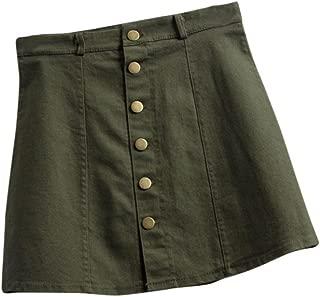 Waist Skirt Korean Style Girls Cowboy Mini Denim Short Skirt for Women