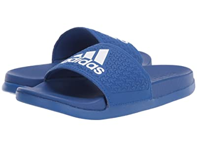 adidas Kids Adilette Comfort (Toddler/Little Kid/Big Kid) (Team Royal Blue/White) Kid