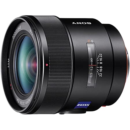 Sony Sal24f20z Weitwinkel Objektiv Schwarz Kamera