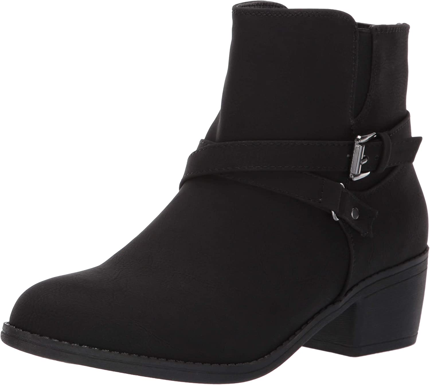 LifeStride Womens Ionic Low Heel Ankle Bootie Ankle Boot