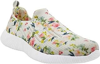 KazarMax XXIV Women's & Girl's Latest Collection, Comfortable & Fashionable Multicolor Printed Slipon's Socks Sneakers/Trainers