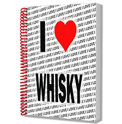 Ik hou van Whisky - A5 Notebook - Kladblok - Verjaardag - Kerstmis - Gift