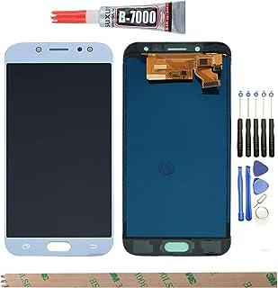 YHX-OU para Samsung Galaxy J7 Pro 2017 J730G J730 J730F/DSM de reparación y sustitución LCD Display + Touch Screen Digitizer con Herramientas Incluidas