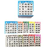 Bingo Paper Game Cards - 1 card - 10 sheets - 100 books of 10 sheets