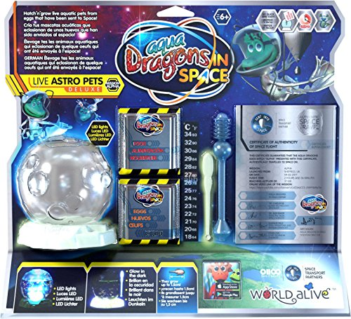 Aqua Dragons- Espacial Juguete Educativo, Multicolor (World Alive 6002)