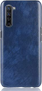 zl one Compatible with/Replacement for OPPO K7 5G PU Leather Case Back Cover (Blue)