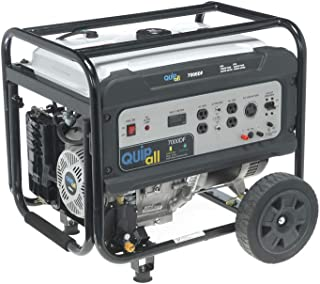 Quipall 7000DF Dual Fuel Portable Generator (CARB)