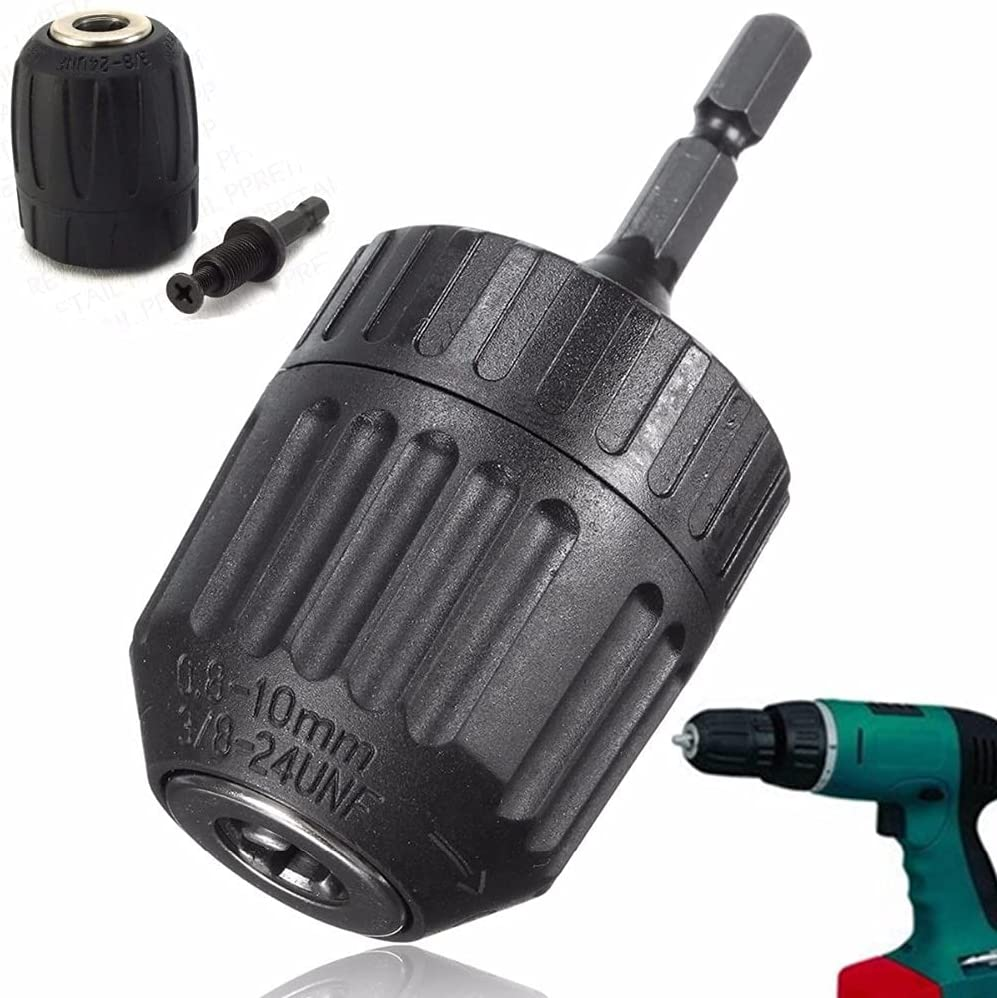 CESULIS Industrial excellence 1PC 0.8-10mm Keyless Mini Drill Chuck Tampa Mall Adaptor