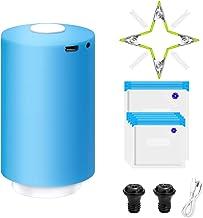 Sous Vide Bags 50 PCS Full Vacuum Sealer Set, 40 Reusuable Vacuum Food Storage Bags+Vacuum Sealer Bags Pump,Heatless Mini ...