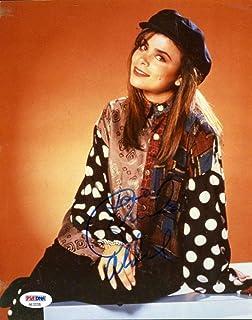 Paula Abdul Coa Hand Signed 8x10 Photo Autograph Authentic - PSA/DNA Certified