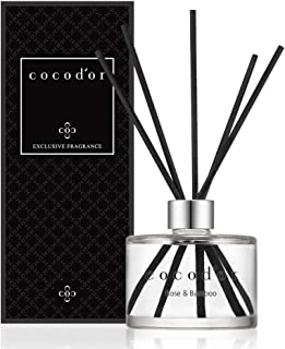 Cocod'or Signature Reed Diffuser/Rose&Bamboo/6.7oz(200ml)/1 Pack/Reed Diffuser,..