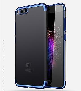 1b4bdc3e7a4 BLUGUL Funda Xiaomi Mi Note 3, Electroplating Coloring, Ultra Fina,  Transparente Suave TPU