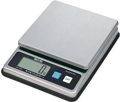 タニタ キッチンスケール はかり 業務用 防水 2kg 1g単位 ステンレス KW-1458 SS 取引証明以外用