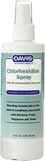 Davis Dog and Cat Chlorhexidine Spray, 4 Percent, 8-Ounce