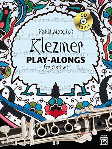 Klezmer Play-Alongs for Clarinet